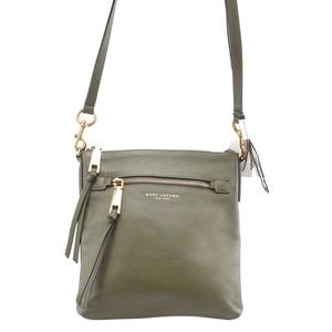 Marc Jacobs Green Leather Crossbody Bag 164051